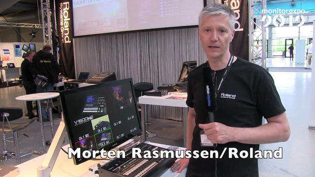 Roland Systems Group på MonitorExpo 2012