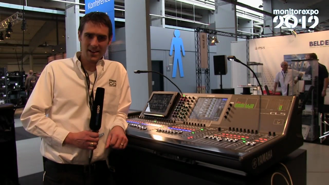 Yamaha på MonitorExpo 2012