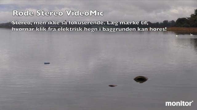 Test af RØDE Stereo VideoMic Pro og VideoMic Pro