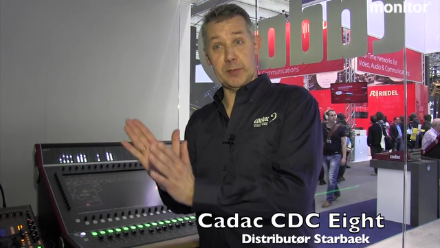 Prolight+Sound 2013 Cadac CDC Eight