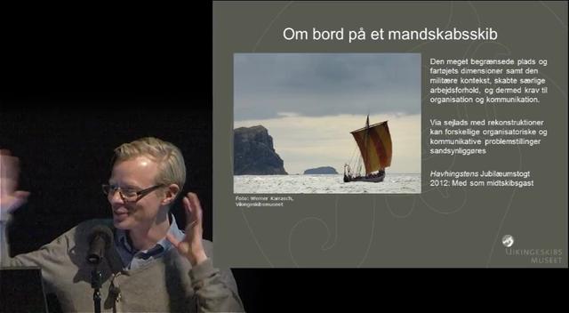 Foredrag: Bygning og brug af skibe til krigsføring
