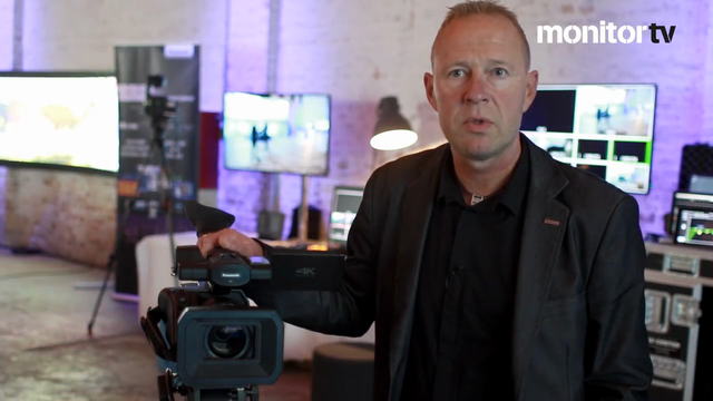 4K videokamera i ENG-klassen
