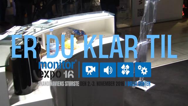 Overvejer du at udstille på MonitorExpo 2016