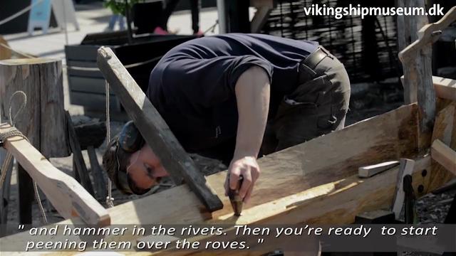 Gislingebåden: Opvarmning af planker
