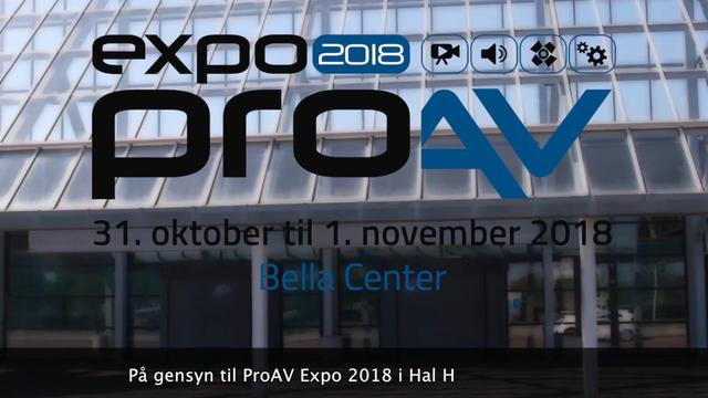 ProAV Expo 2018