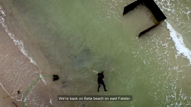 2nd part of the film about the new-found wreck on the island of Falster