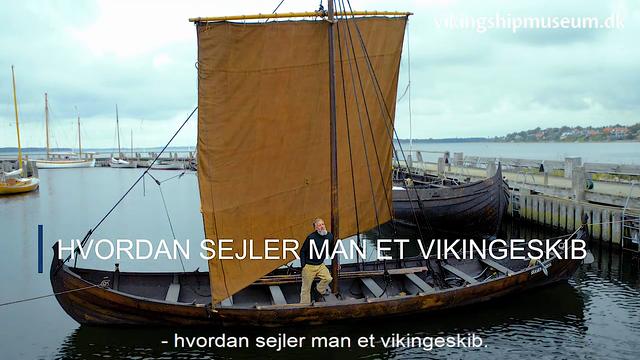 Viking talk i efterårsferien 2020 - Hvordan sejles et vikingeskib