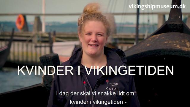 Viking talks i efterårsferien 2020 - Kvinder i vikingetiden