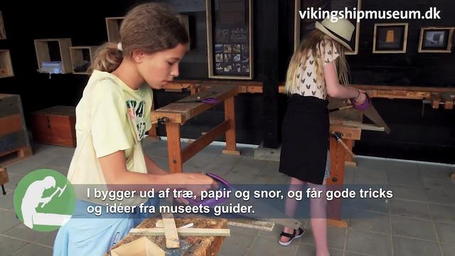 Byg båd-værksted for kreative børn og voksne