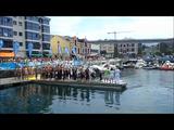 Magnus Andersen og Laust Moesgaard svømmer LEN Cup i Navia