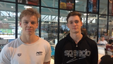Philip Greve og Tobias Bjerg kæmper om rekorden på 100 bryst
