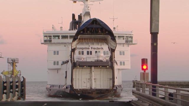 Havhingsten på hjul til Berlin