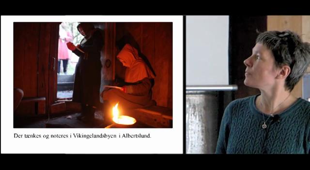 Spor efter vikingetidens sejlproduktion på Sjælland