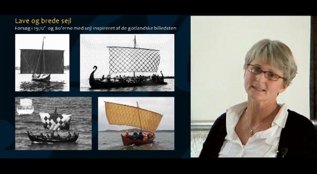 Vikingetidens sejl ? dimensioner og form