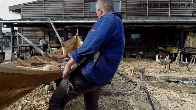 Gislinge boat- floor timbers