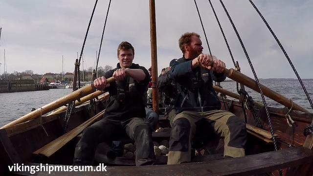 The Launching of Skjoldungen