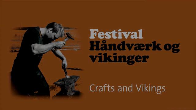 Vikinger og håndværk - festival på vikingeskibsmuseet
