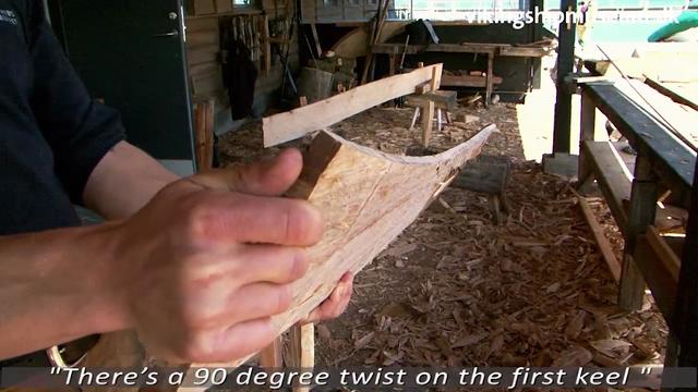 Hugning af planker
