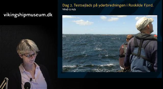 Oseberg foredrag ved Vibeke Bischoff, del 2