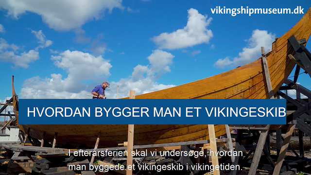 Viking talks i efterårsferien 2020 - Hvordan bygges et vikingeskib