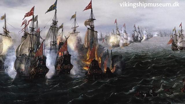 Et levende maleri - med kanonrøg og eksplosioner